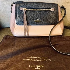 Kate Spade Tri-color Crossbody Bag!